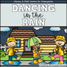 Dancing in the Rain! {April Literacy & Math Centers for Ki
