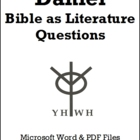 Daniel Questions: Bible as Literature