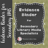 Danielson Binder for Secondary Library Media Specialists