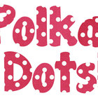 Dark Pink Polka Dot Alphabet Freebie