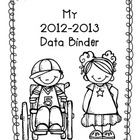 Data Binder Dividers for 2012-2013