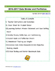 Data Binder and Portfolio Common Core Standards Pack Grade 5