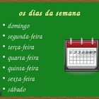 Data (Dates in Portuguese) powerpoint