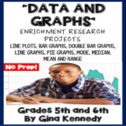 Data & Graphs, Mode, Median, Range, Mean Differentiated Pr