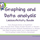 Data and Graphing Lesson and Activity Bundle