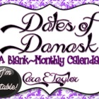Dates of Damask~Editable Monthly Calendar