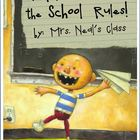 David Learns School Rules Poster