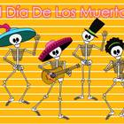 Day of the Dead Dancing Calaveras Clip Art