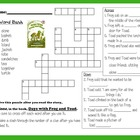 Days With Frog and Toad Crossword