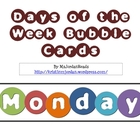 Days of the Week - Bubble-Shaped Theme