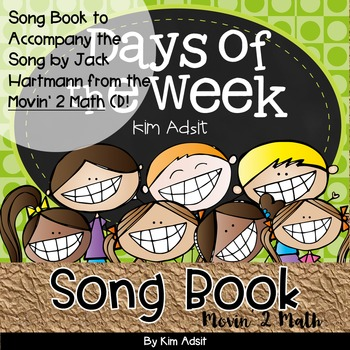 Days of the Week Music Book