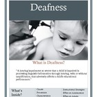 Deafness Brochure for Parents and Teachers