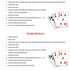 Dealing Decimals - Comparing Decimals