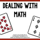 Dealing With Math!  A Common Core Aligned Math Pack!
