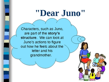 """Dear Juno"" - Treasures Reading Program 3rd- Story Elements"