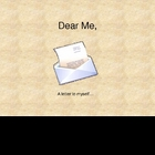 Dear Me Letters for the Beginning of the Year
