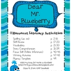 Dear Mr. Blueberry (Harcourt Unit)