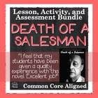 Death of a Salesman Common Core Aligned Literature Guide