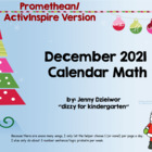 December 2012 Calendar for the Promethean Board