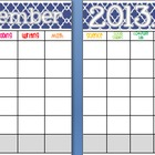 December 2013 Editable/Customizable Curriculum Planning Calendar