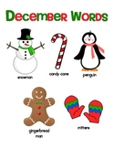 December AND Christmas Read, Write, Trace and Draw Activites