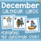 December Calendar Numbers - Nativity/Religious/Christmas