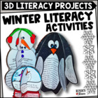 December Craftivities - Literacy-Themed Craftivities for December