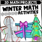 December Craftivities - Math-Themed Craftivities for December