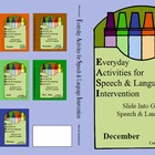 December Everyday Activities for Speech & Language Interve