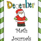 December Everyday Math Journals Printable