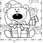 December First Grade Coloring Pages