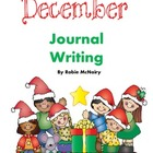 December Holiday Journal Writing