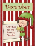 December ~ Holiday Math and Literacy Activities for the Pr