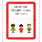 """December Holidays Around the World"" Differentiated Activities"