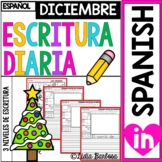 December Journal Prompts- Spanish