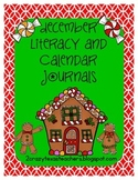 December Literacy and Calendar Journals