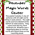 December Magic Words