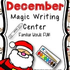 December Magic Writing Center Activity