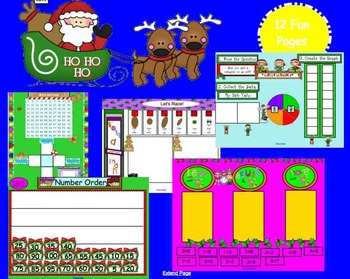 December Math Fun- SMARTboard