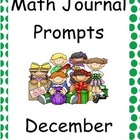 December Math Journal Primary