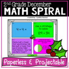December Math Spiral Review