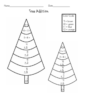 December Math Worksheets: Addition and Subtraction