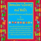 December Math and Literacy - aligned with common Core