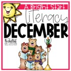 December Morning Bright {Kindergarten Literacy Morning Work}