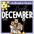 December Morning Bright {Kindergarten Math Morning Work}