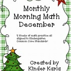 December Morning Math
