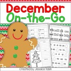 December On-the-Go {Holiday/Christmas Literacy, Math, and