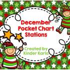 December Pocket Chart Station