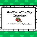 December Question of the Day Prompt