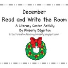 December Read and Write the Room